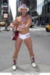 фото The Naked Cowboy